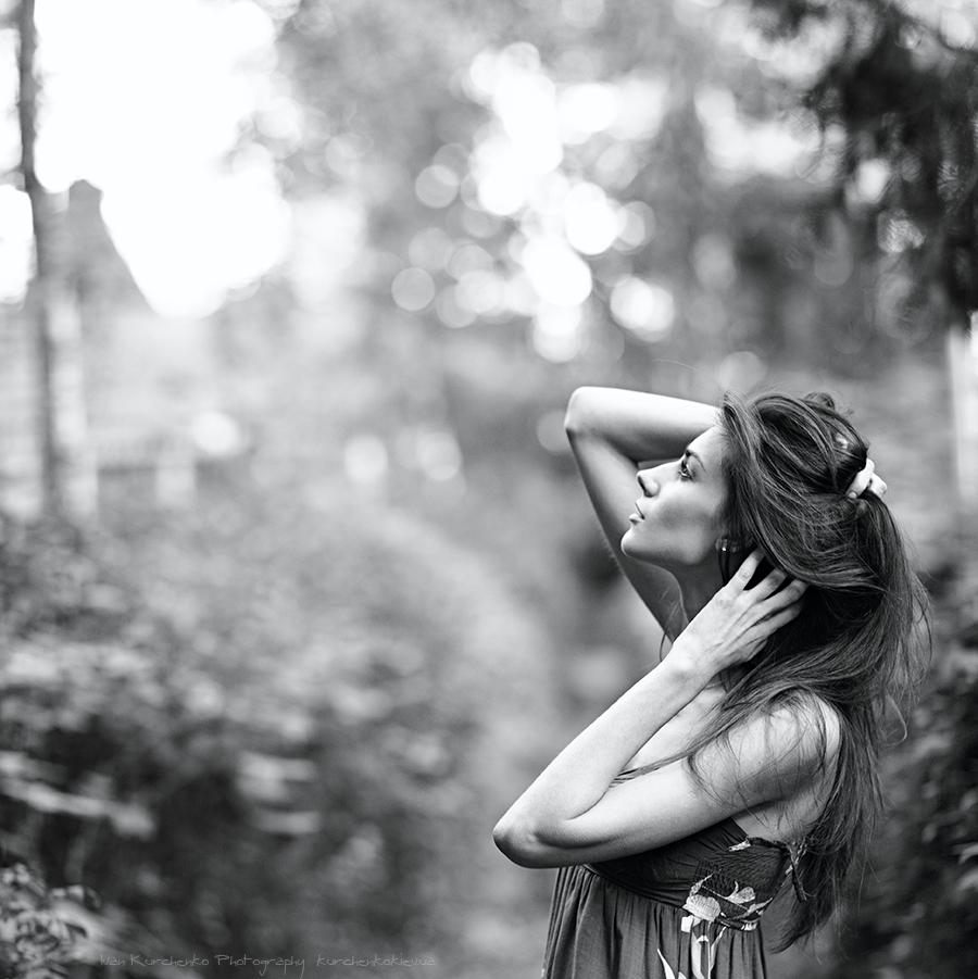 Ivan Kurchenko photography, photosets, Julia Maievska, portraits