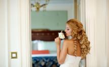 Портрет невесты - запах цветов