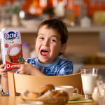Рекламная фотосъёмка для компании Lactel